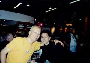 with Gregg Bissonette