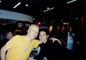 with Gregg Bissonette