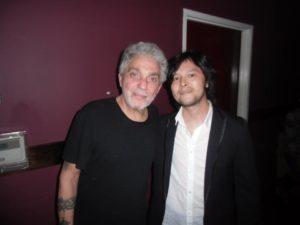 with Master, Steve Gadd